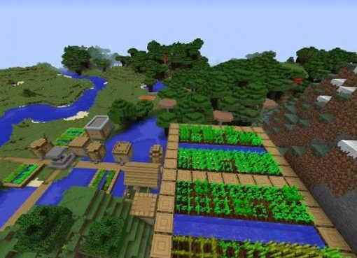 Village with a Great Loot Seed