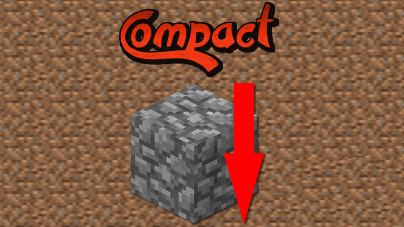 Compact Mod for Minecraft