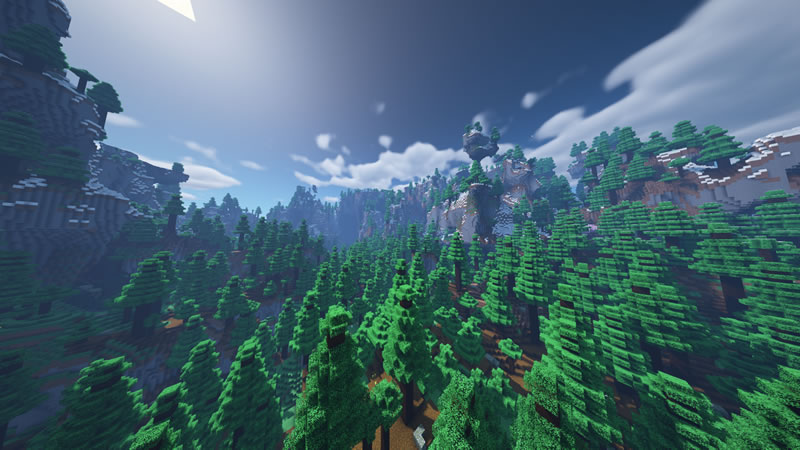 Default Amplified Biomes Mod Screenshot 5