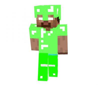 Emerald Armor Herobrine | Minecraft Skins