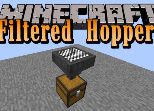 Filtered Hopper Mod