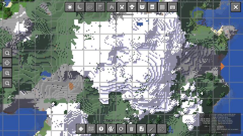 JourneyMap Mod Screenshot