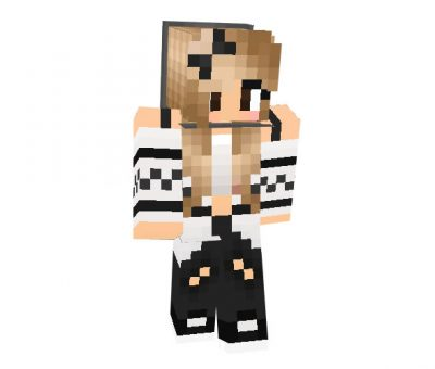 My Winter Skin for Minecraft Girl