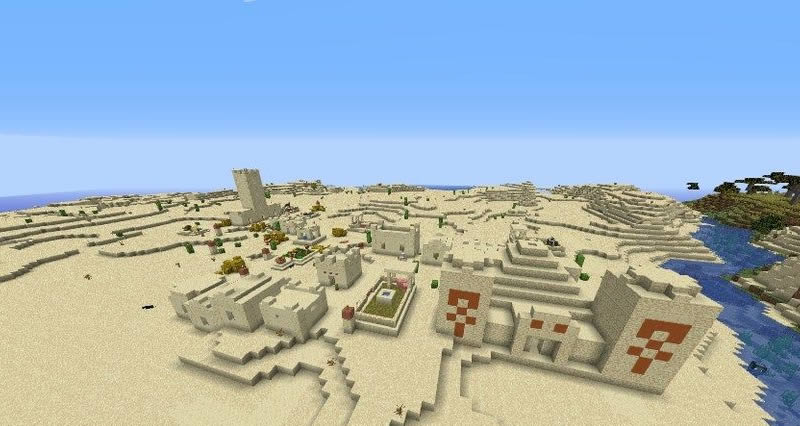 Pillager Outpost at Spawn Seed Screenshot 3