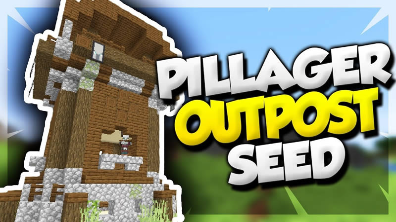 Pillager Outpost at Spawn Seed