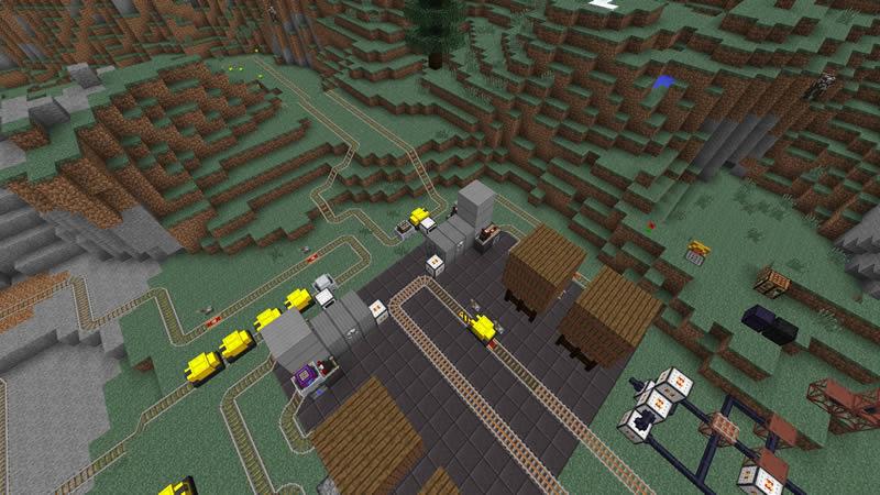 Railcraft Mod Screenshot 6