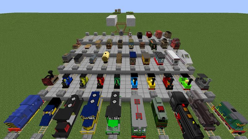 Railcraft Mod Screenshot