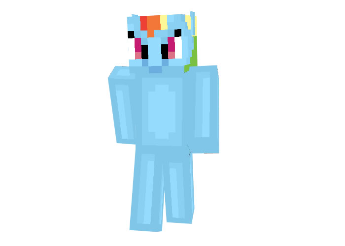 Rainbow Dash Skin (My Little Pony)