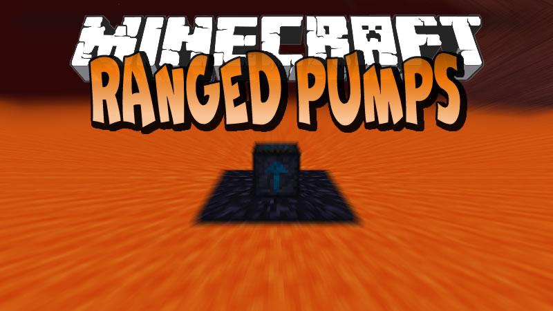 Ranged Pumps Mod for Minecraft