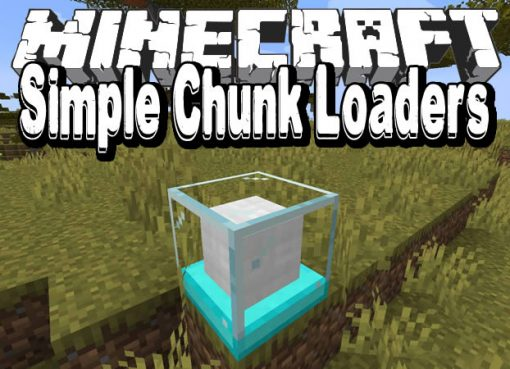 Simple Chunk Loaders Mod for Minecraft