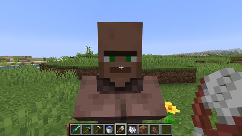 Villager's Nose Mod Screenshot