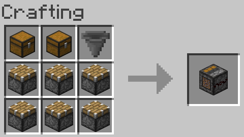 Waterfree Farming Mod Injector Crafting Recipe