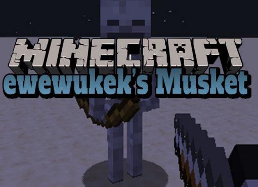 ewewukeks Musket Mod for Minecraft