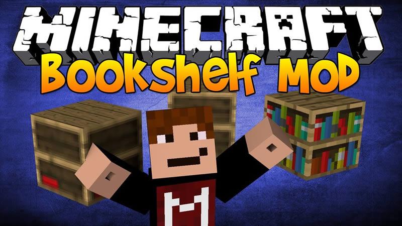 Bookshelf Mod for Minecraft