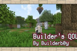 Builders Quality of Life Shaders for Minecraft