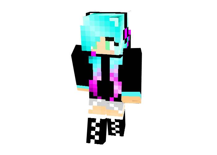 Dj Allydusa | Minecraft Skins for Girls