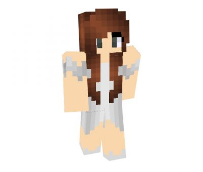 Guardian Angel Skin for Minecraft Girl