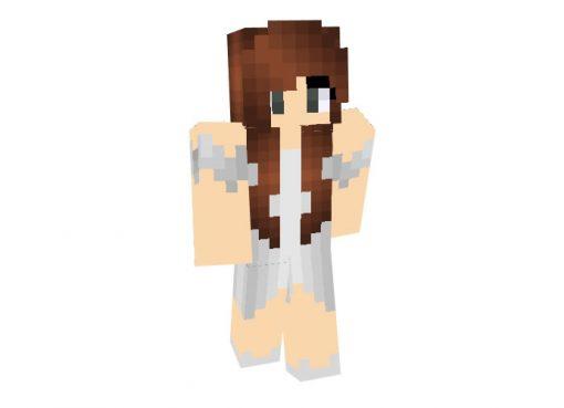 Guardian Angel Skin for Minecraft Girl