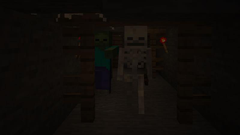 Mushroom Island with Mineshafts Seed Screenshot 1