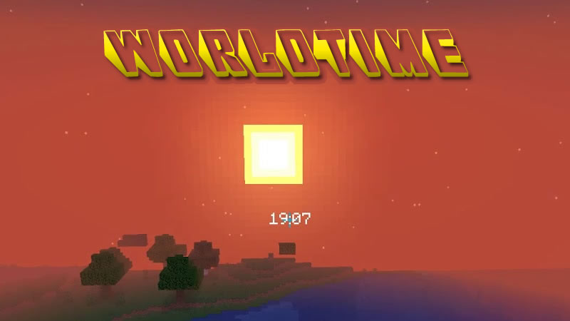 WorldTime Mod for Minecraft