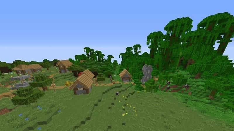 All Biomes Around Island Seed Screenshot 2