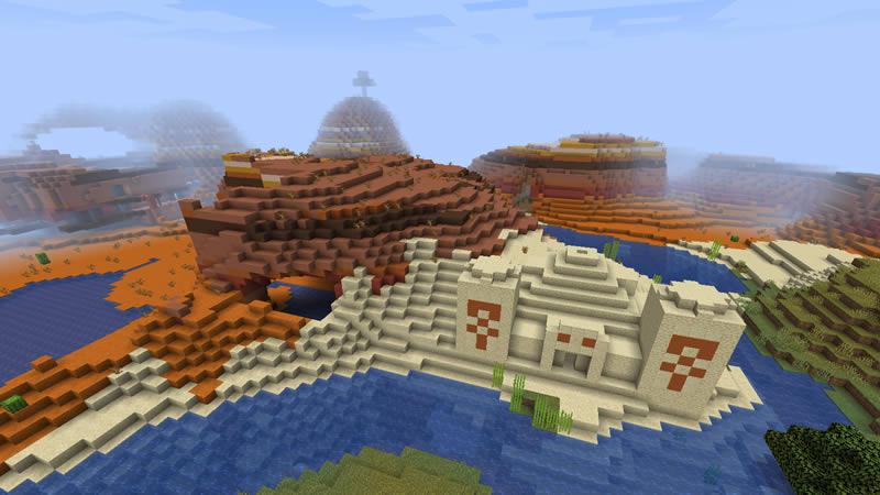 All Biomes Around Island Seed Screenshot 5