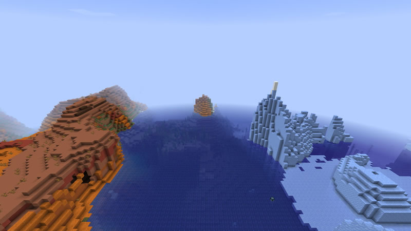 All Biomes Around Island Seed Screenshot 6
