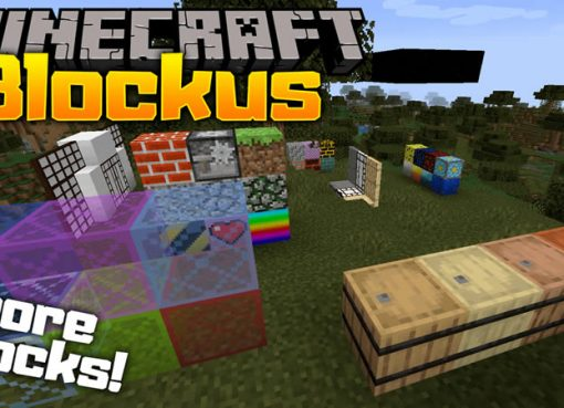Blockus Mod for Minecraft