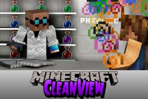 CleanView Mod for Minecraft
