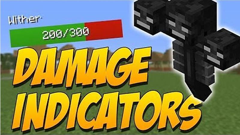 Damage Indicators Mod by ToroCraft for Minecraft