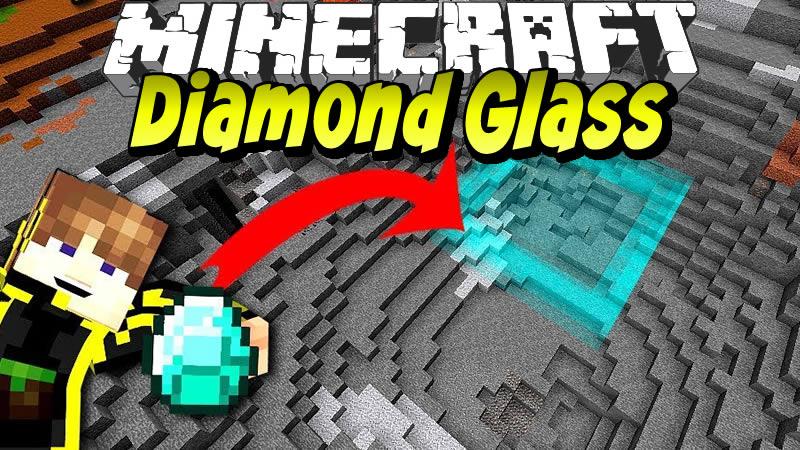 Diamond Glass Mod for Minecraft