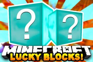 Diamond Lucky Block Mod