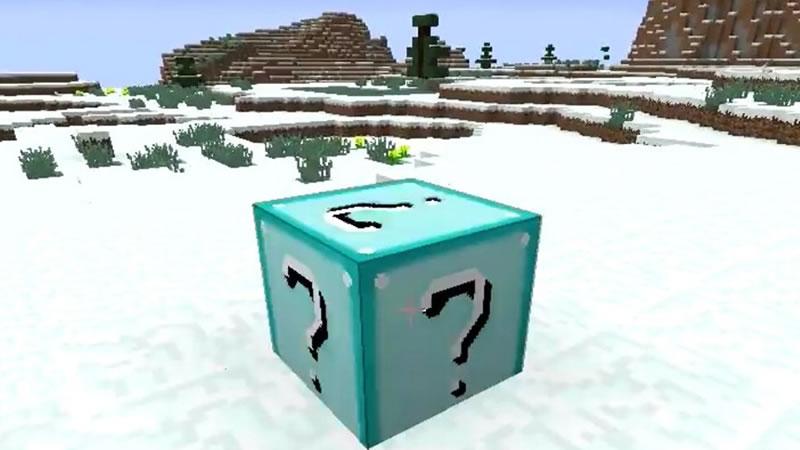 Diamond Lucky Block Mod Screenshot 2
