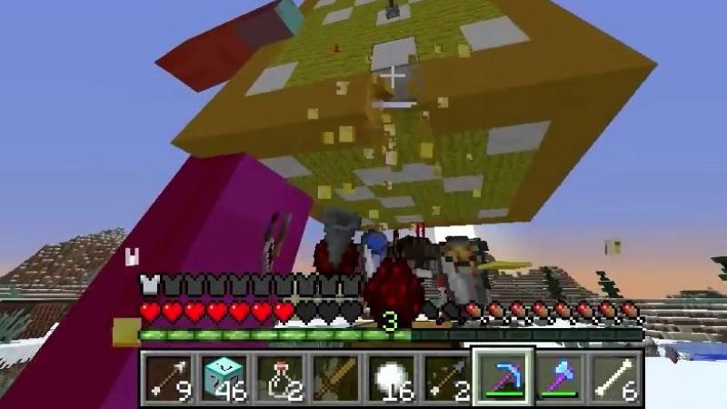 Diamond Lucky Block Mod Screenshot 3