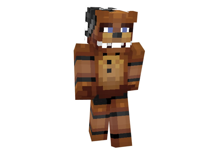 Five Nights at Freddy's Skin for Minecraft Game