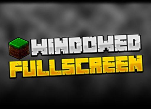 Fullscreen Windowed Borderless Mod