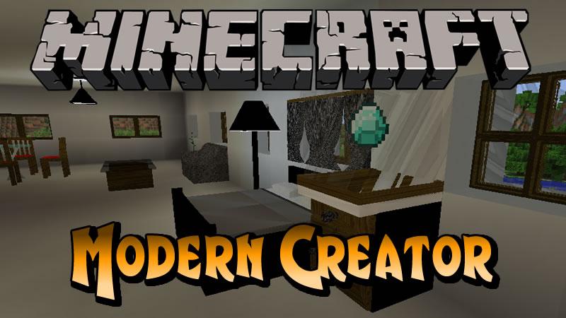 Modern Creator Mod (Home Furniture)