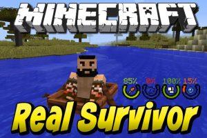 RealSurvivor Mod for Minecraft