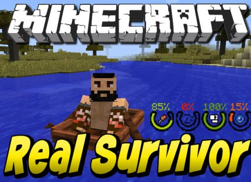 RealSurvivor Mod for Minecraft