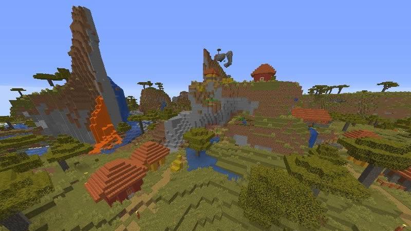 Savanna Mountain and Four Villages Seed Screenshot 3