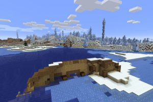 Shipwreck on the Iceberg Seed for Minecraft