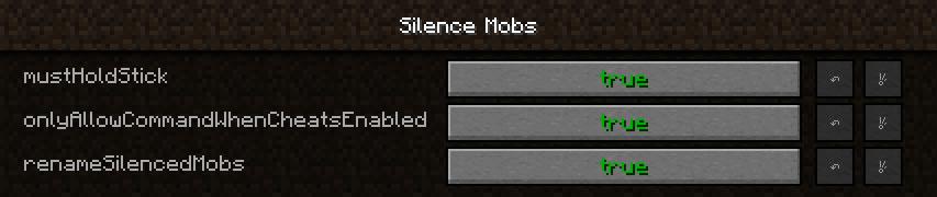 Silence Mobs Mod Screenshot