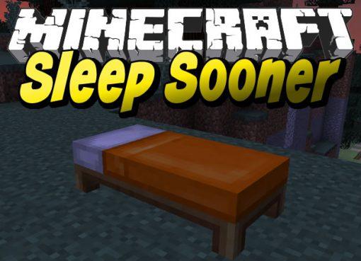 Sleep Sooner Mod for Minecraft