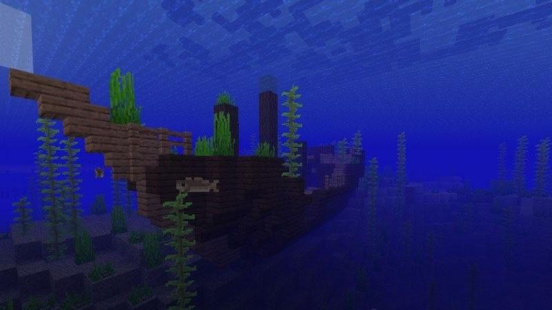 Small Island with Mineshaft Seed Screenshot 2