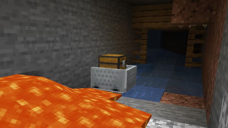 Small Island with Mineshaft Seed Screenshot 4
