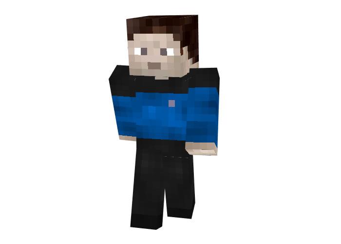 Star Trek Blue Uniform   Minecraft Skins