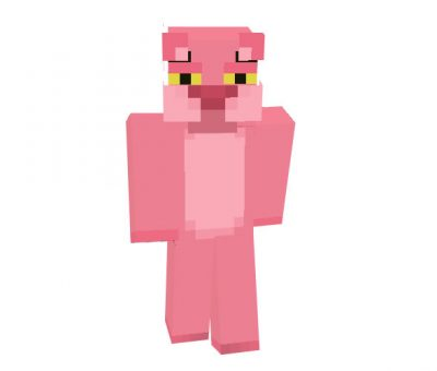 Pink Panther Skin for Minecraft