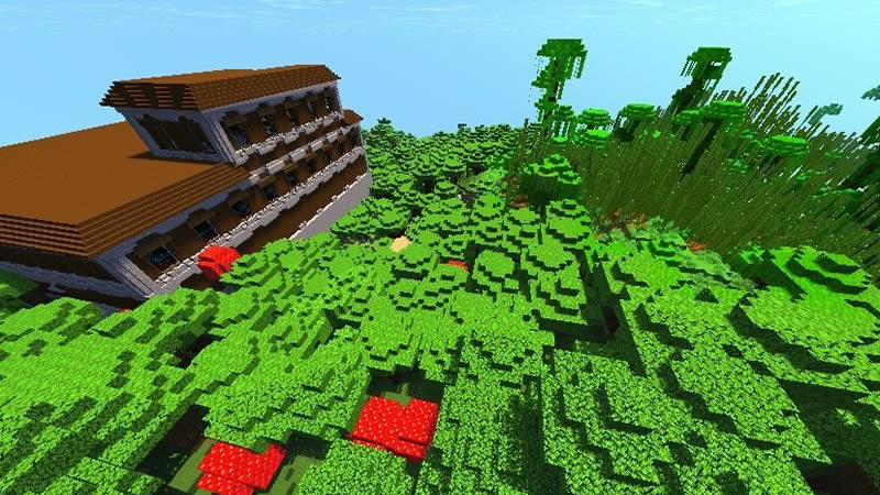 Two Villages and Two Woodland Mansions Seed Screenshot 2
