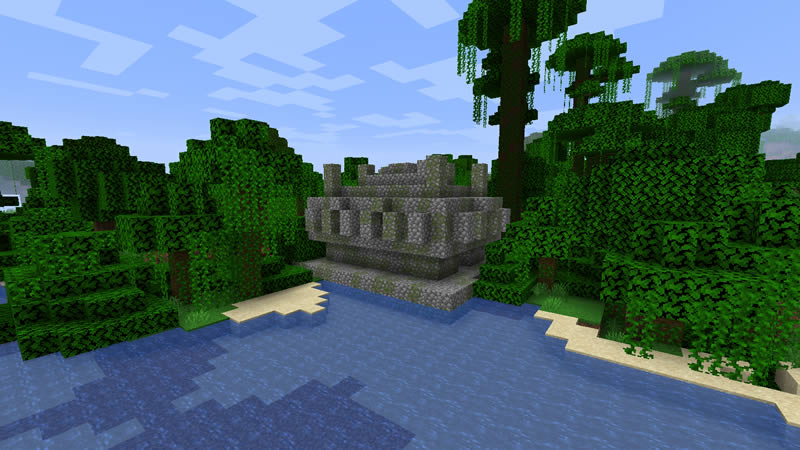 Two Villages and Two Woodland Mansions Seed Screenshot 3