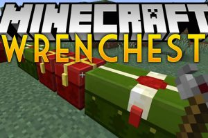 Wrenchest Mod for Minecraft